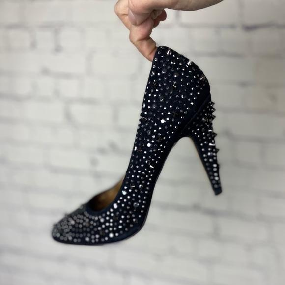 ALDO Stud rock black heels | 39